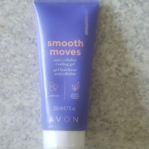 *Avon* Smooth Moves anti-cellulite cooling gel.